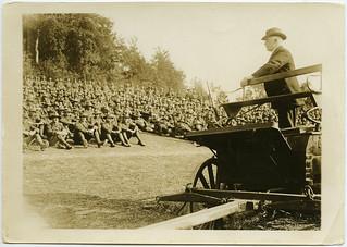 William Massey, July 1918, France