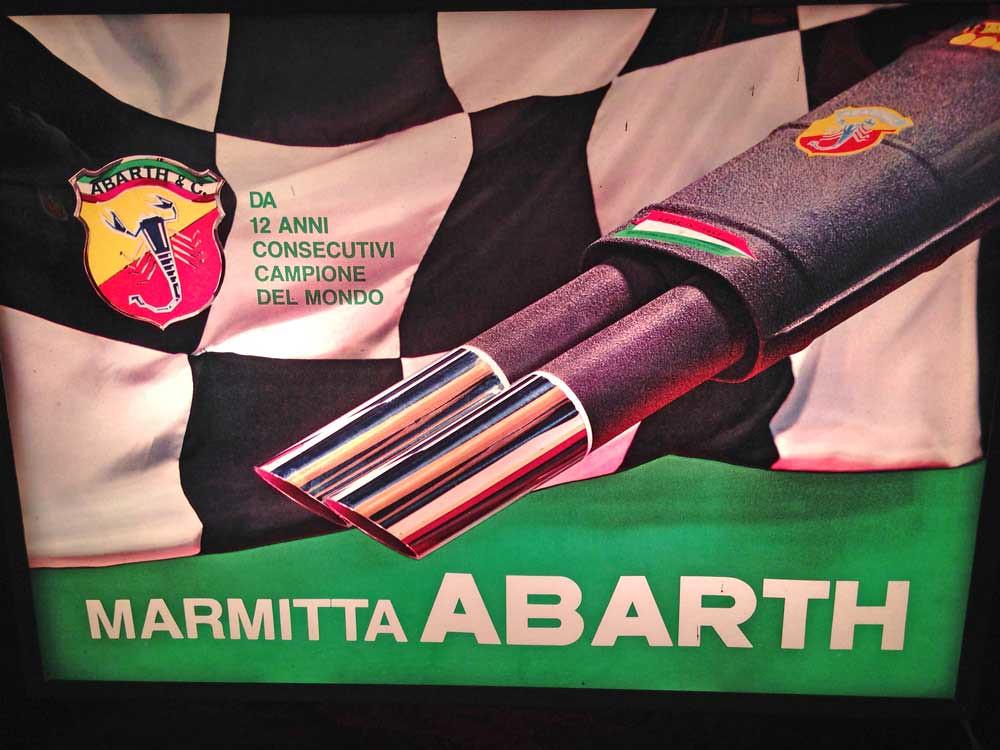 Abarth advertising