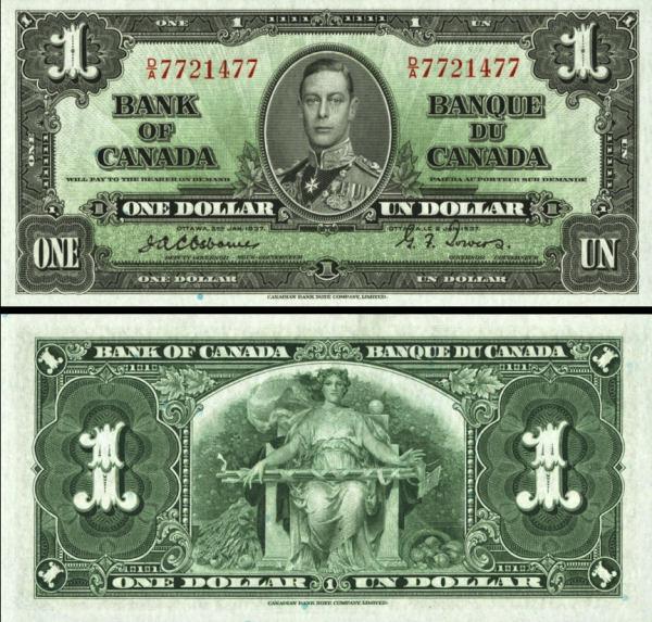 1 Dolár Kanada 1973, P58