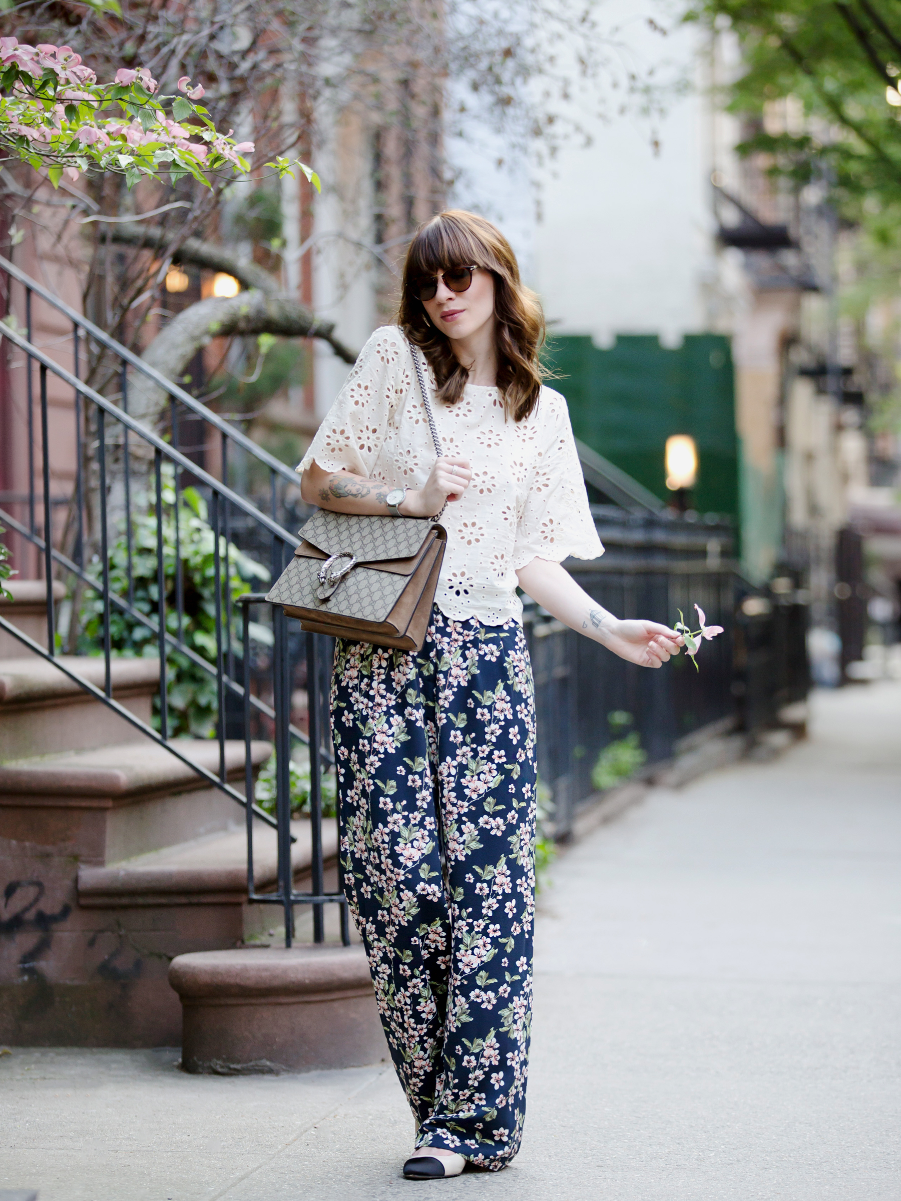 new york city streetstyle fashion fashionblogger mint&berry persol mister spex gucci dionysus luxury fashion styling look summer flowers floral cats & dogs modeblog ricarda schernus fashionblogger germany 3