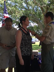 David Rice Eagle Scout Ceremony