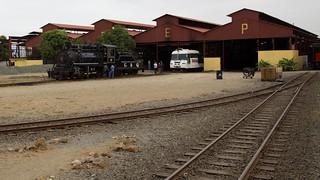 Rail yard in Duran