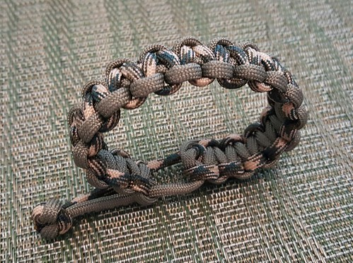 Mad Max Adjustable Paracord Bracelet