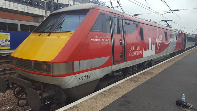 91114 at Doncaster on 1S17 Kings Cross to Edinburgh