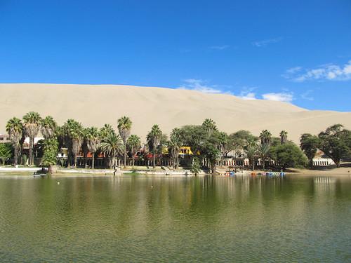 Huacachina: l'oasis