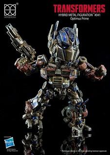 HEROCROSS - Hybrid Metal Figuration:柯博文(隱匿模式) Optimus Prime (Evasion Mode)