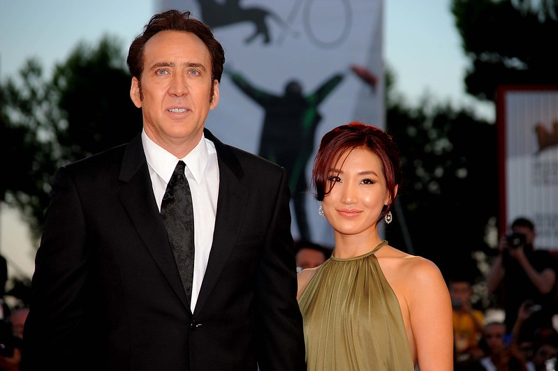 Николас Кейдж с супругой