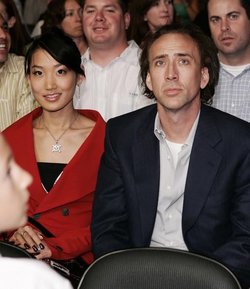 Фото с супругой Николаса Кейджа
