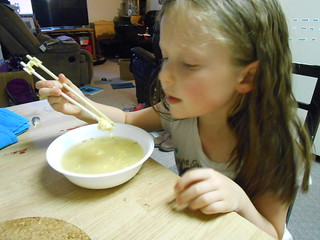 Egg Drop Soup with Chopsticks (3)