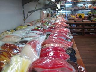 Fake Food Store on Kappabashi Street, Tokyo