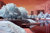 Moscow in the infrared by Mihail Lomanov.