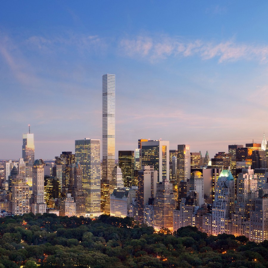 432 Park Avenue Tower design by Rafael Viñoly