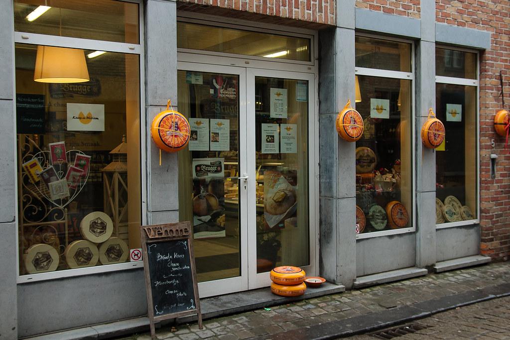 חנות גבינה בברוז