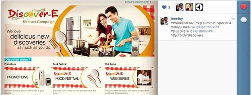 Electrolux Discover-E Kitchen Campaign