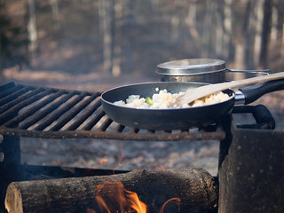 Campfire Cooking | by Colin Browne