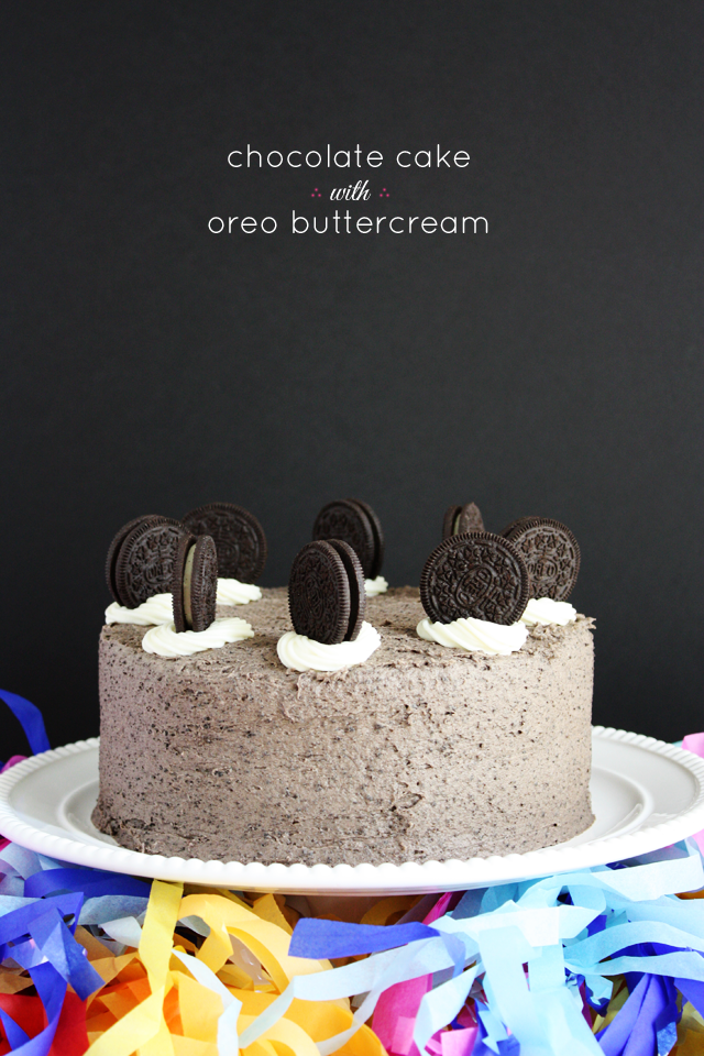 chocolate bolo-oreo-buttercream