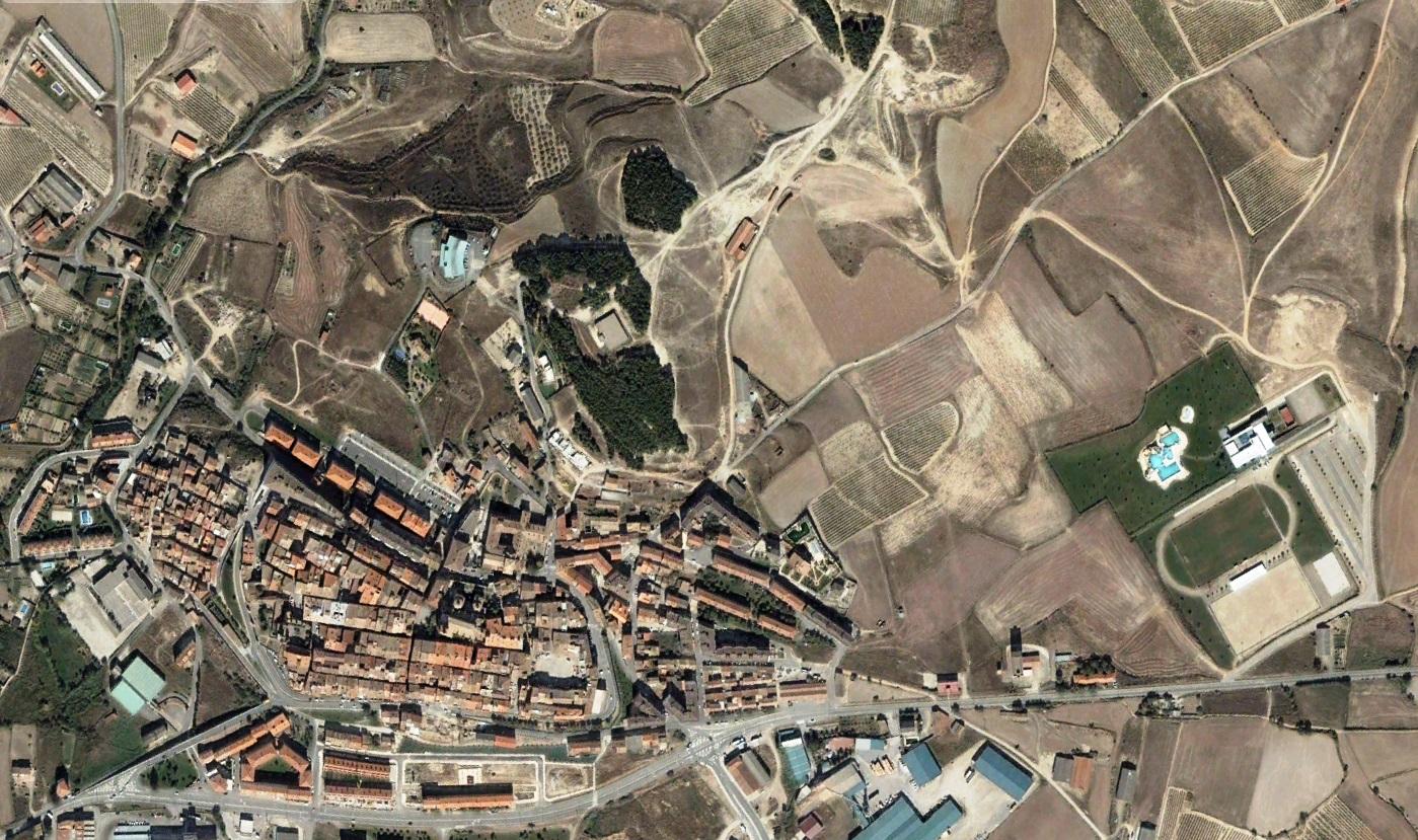 antes, urbanismo, foto aérea, desastre, urbanístico, planeamiento, urbano, construcción, Viana, Navarra