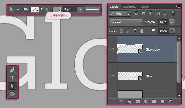 Texto en 3D con Photoshop
