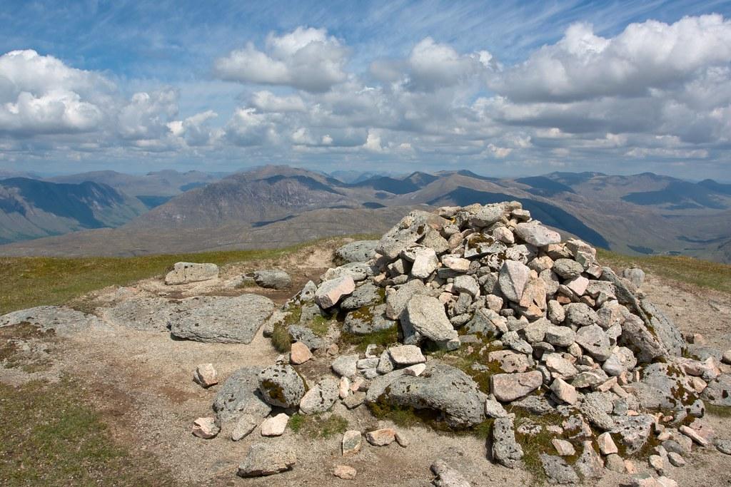 Summit of Beinn a' Chochuill