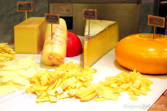 More Cheeses at Spiral Sofitel Manila