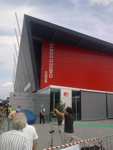 presentazione del Museo Checco Costa all'autodromo di Imola (2)