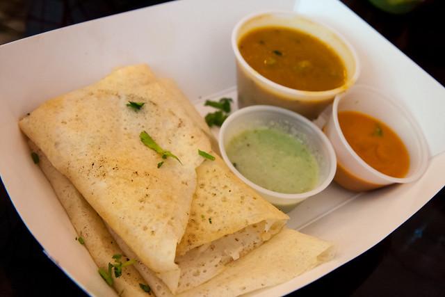 Amul chili cheese dosa, Bombay Duck Co.