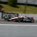 Helio Castroneves practices at Pocono Raceway
