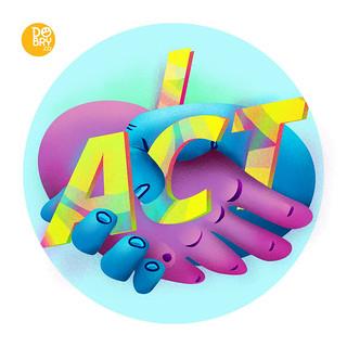 7. I act