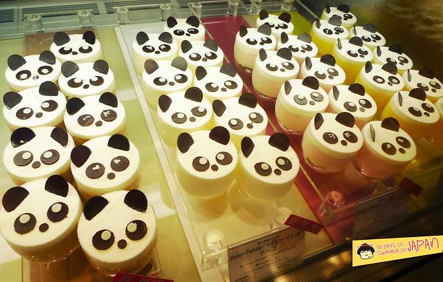 Panda Desserts - Ecute - JR Ueno Station