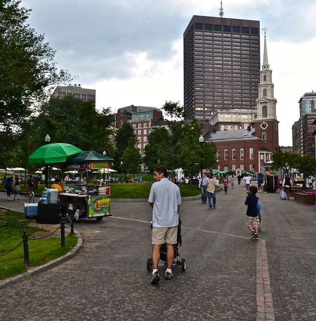 Places to see in boston