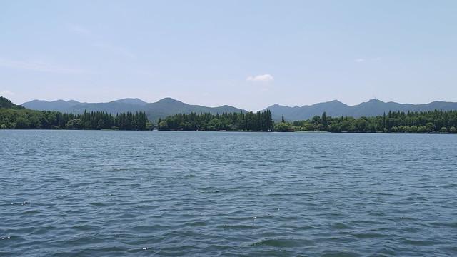 杭州西湖蘇堤春曉