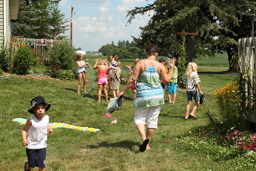 Week 4 of Kids in the Garden at Lapacek's Orchard