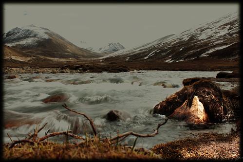 Birth of teesta river