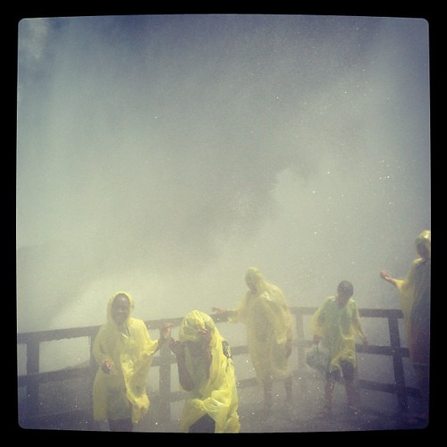 #Hurricane Deck at the #caveofthewinds in #niagarafalls US! What an experience.