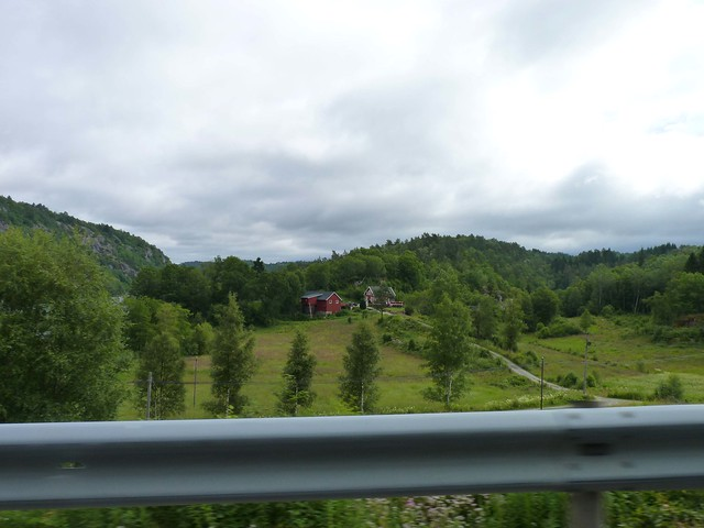 The Norwegian countryside
