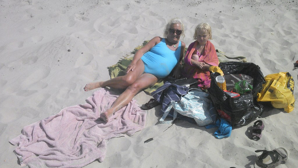 Vesterhavstur med mor og Troels