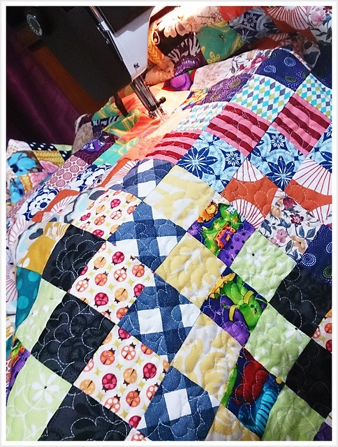 quilting scrappytripalong