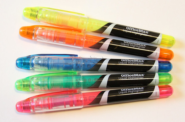 OfficeMax Liquid Highlighters