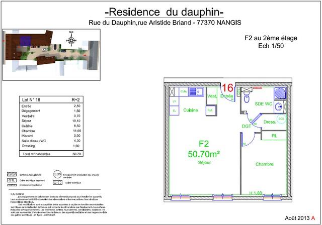 Résidence du Dauphin - Plan de vente - Lot n°16