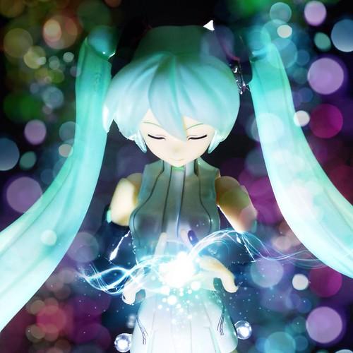My music bring joy to the universe - Hatsune Miku