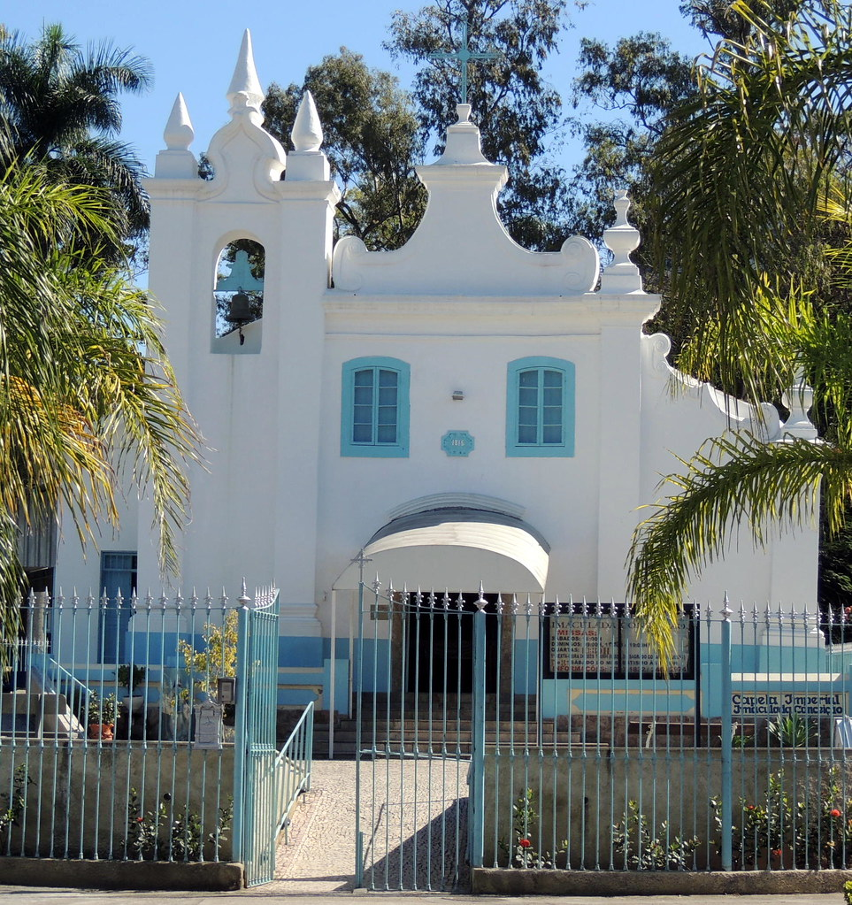 Capela Imperial Nossa Senhora da Conceição. Ilha do Governador, Rio de Janeiro, Brasil