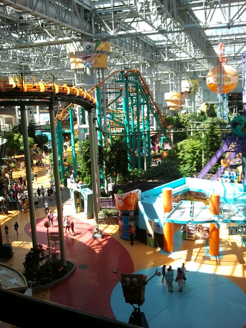 Amusement Park in Mall of America