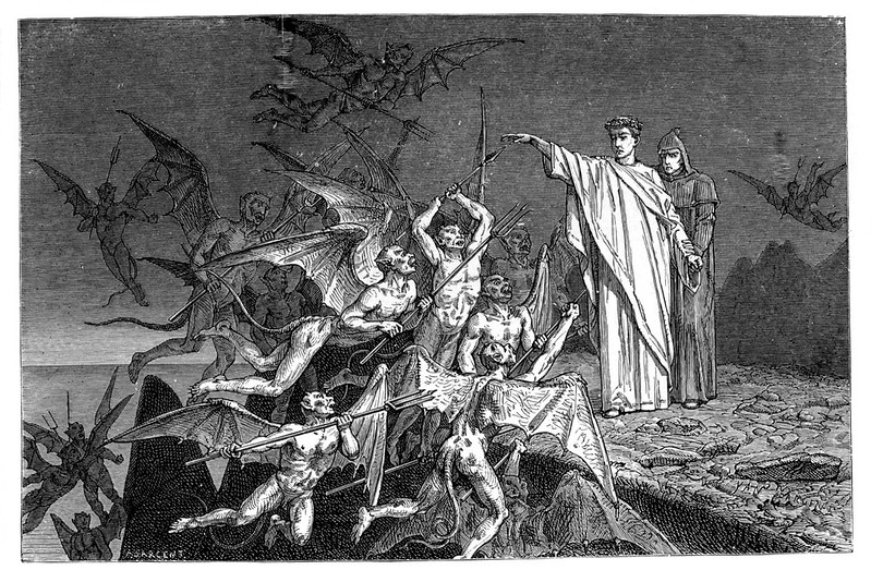 Jean-Edouard Dargent  - Illustrations from Dante's Divine Comedy 1870 (8)