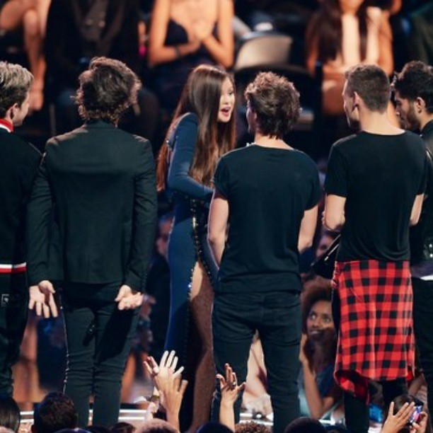 #MTV_VMA_2013 #One_Direction #Awards #Instagram #Photo #Photography #Nialler #Niall_Horan #Harry_Styles #Hazza #Liam_Payne #Louis_Tomlinson #Zayn_Malik #Selena_Gomez