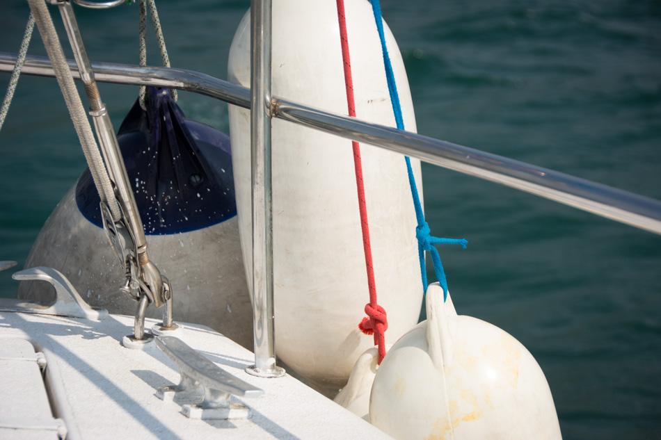 buoys boat yacht
