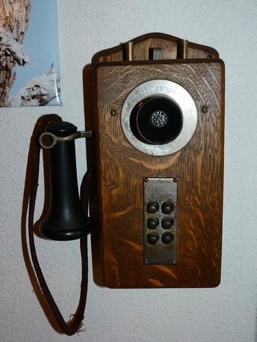 Teléfono antiguo de Connecticut