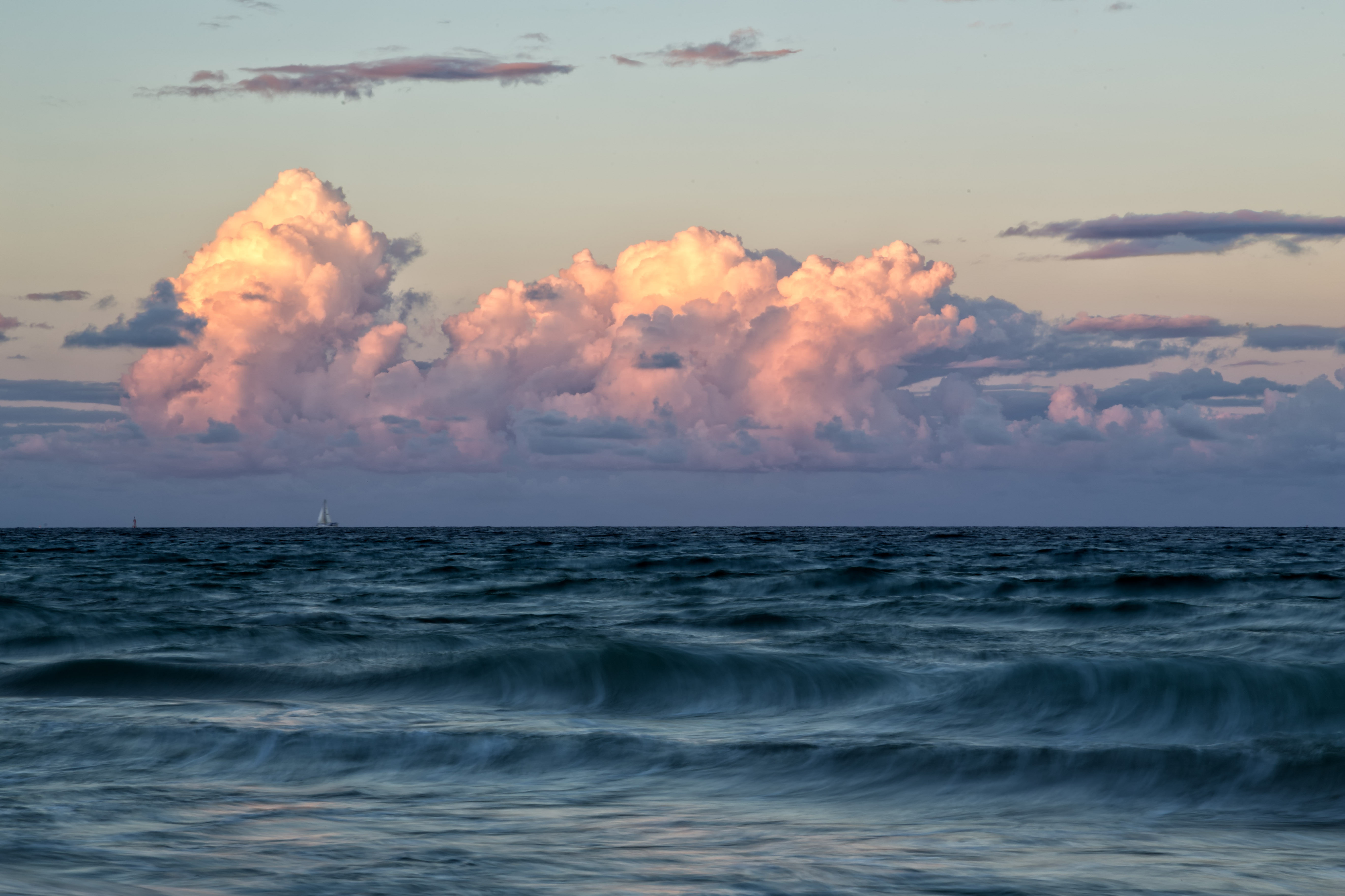 Sunset Time Pompano Beach