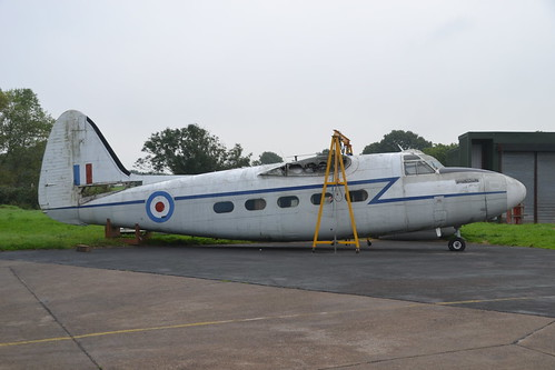 XK885 Pembroke C.1 (Arrived 25/09/13)