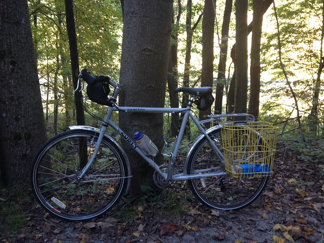 Surly LHT on The Great Allegheny Passage Trail