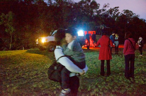 people blur sunrise walking lights australia so 晞
